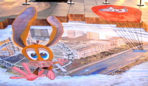 emirates 3d painting1